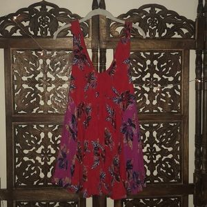 FREE PEOPLE TROPICAL SUMMER DRESS